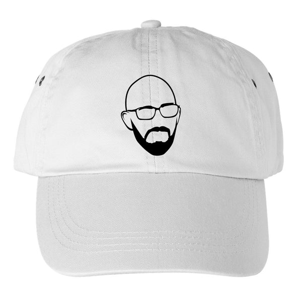 Today I Found Out Simon Hat- White - Outloud Merch