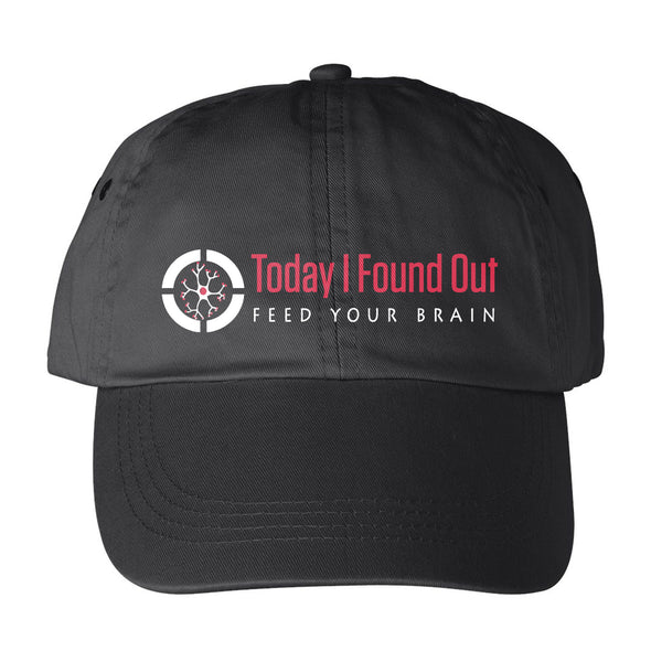 Today I Found Out Hat- Black - Outloud Merch