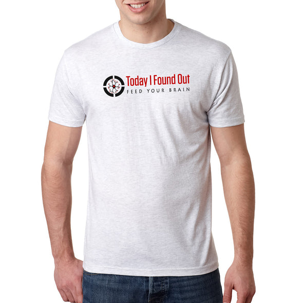 Today I Found Out Triblend Tee - Heather White - Outloud Merch