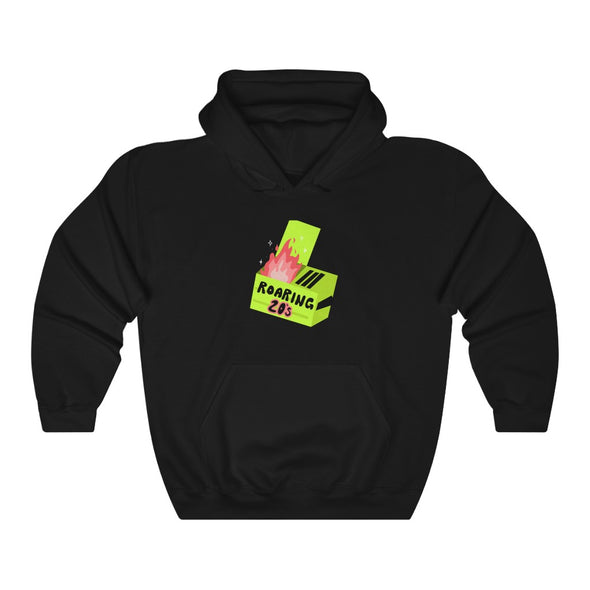 Ready to Glare | Dumpster Fire Hoodie