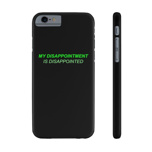 Ready to Glare | Disappointment Phone Case
