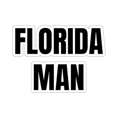 Backyard Scientist | Florida Man Sticker