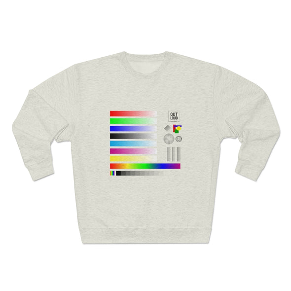 Unisex Premium Crewneck Sweatshirt - SAMPLE (LIGHT COLORS)
