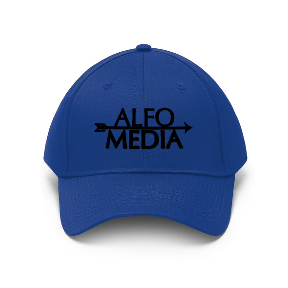 Alfo Media | Black Arrow Twill Hat