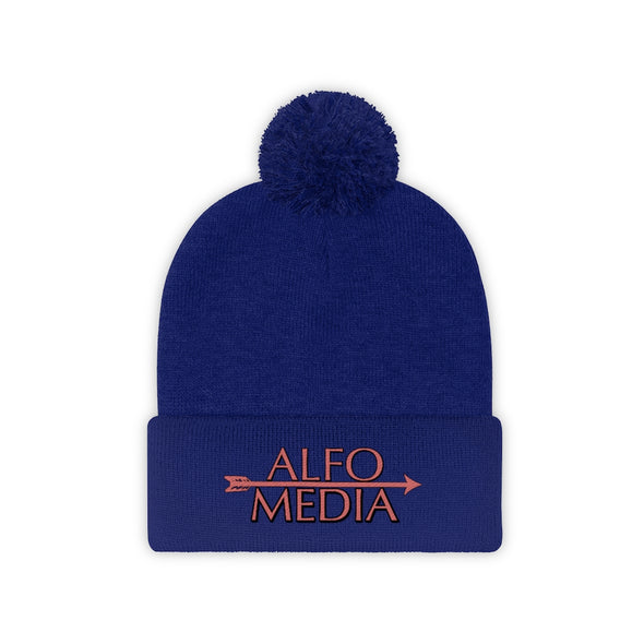 Alfo Media | Main Arrow Pom Pom Beanie