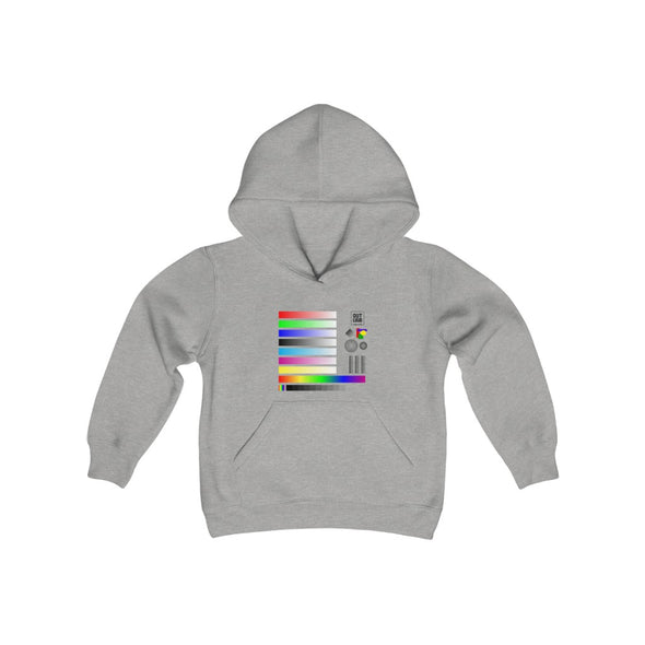 Youth Heavy Blend Hooded Sweatshirt - Sample (LIGHT COLORS)