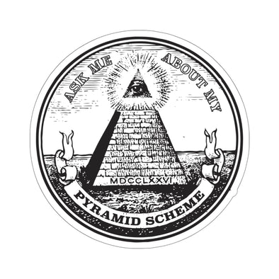 Simon Whistler - Pyramid Scheme Sticker