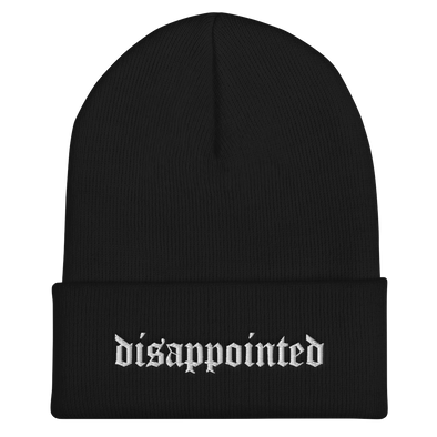 Ready to Glare - Disappointed Beanie - Outloud Merch