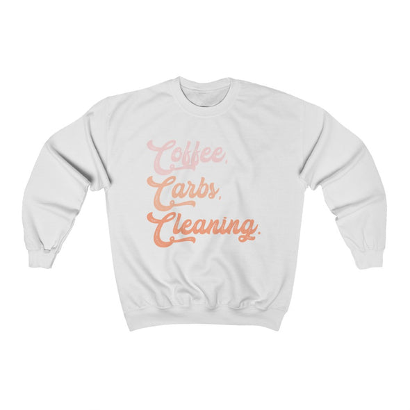 Lizabeth Rebecca | Coffee, Carbs, and Cleaning Crewneck
