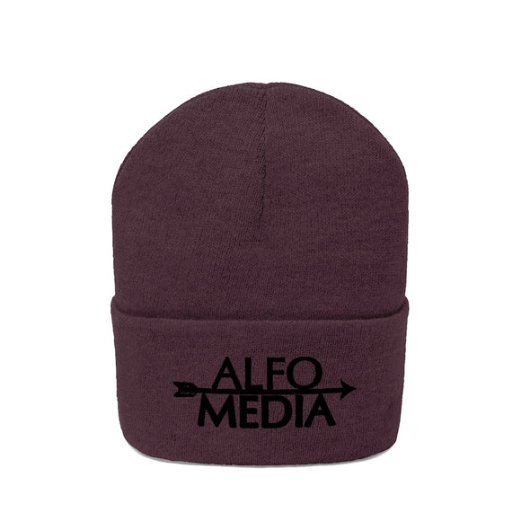 Alfo Media | Black Arrow Beanie