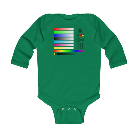Infant Long Sleeve Bodysuit - SAMPLE (ALL COLORS)