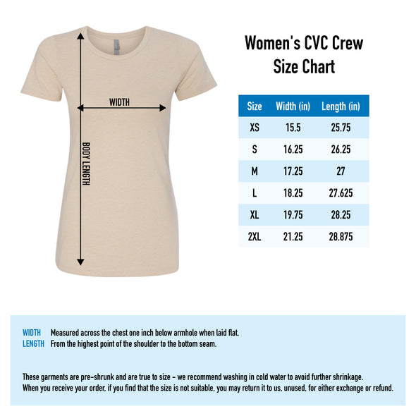 Logo Tee Left Chest - Ladies - Outloud Merch