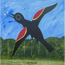 """Red Winged Black Bird Me..."
