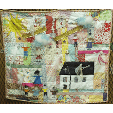 """A Little Happy Quilt"""