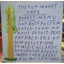 """The - Out - Woods Cafe"""