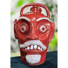 """Red Face Jug"""
