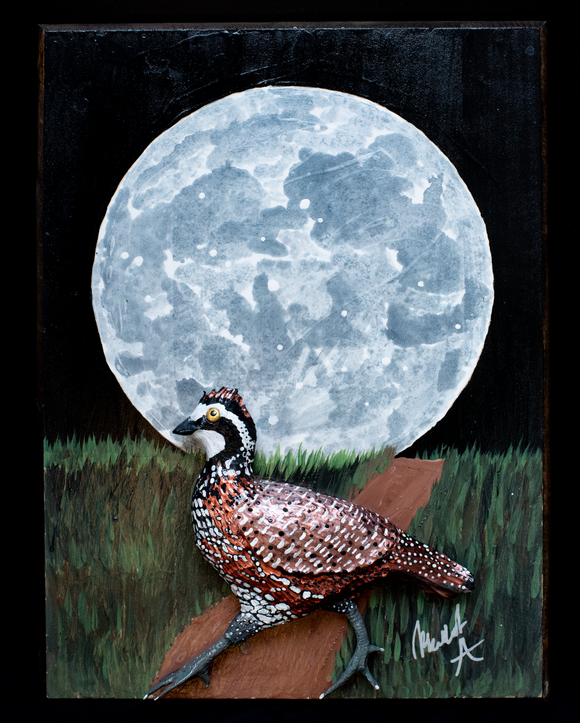 Quail and a Full Moon