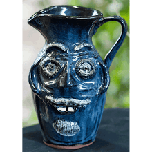 """Blue Face Pitcher"" (3-3-04)"