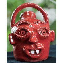 """Red Face Jug"" (9 - 2011)"