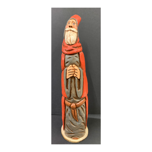 """Heaven-gazer"" Clay Carved Gourd"