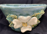 Dogwood Blossom Bowl in Blue #4746