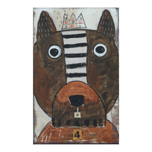"""Woof 4"" Cigar Box"