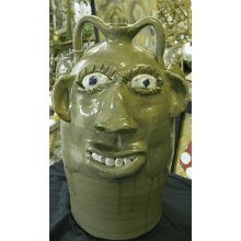 """Large Double Face Jug"""