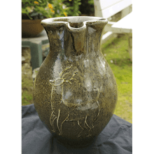 """Stag & Ferns Pitcher"""