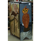 Six Paintings Hand Made Cabinet