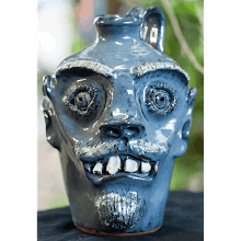 """Blue Face Jug"" (2004)"