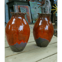 """Multi Colored Vases"" (Sold by the Each)"