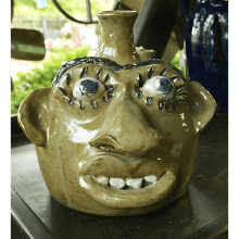 """Wide Face Jug #2"""