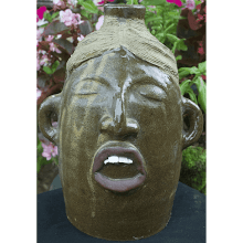 """Night Mood"" Face Jug"