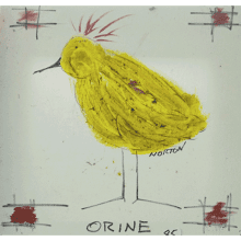 """Chicken Scratch  #48  ""Orine"""