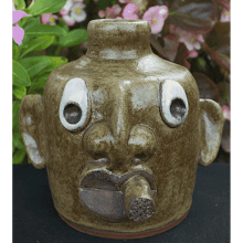 """Mo - Joe"" Face Jug"