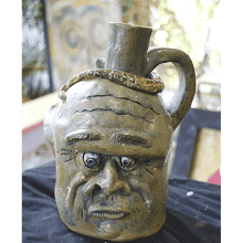 """Double Face Jug"""