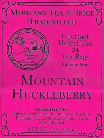 Mountain Huckleberry Tea