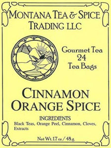 Cinnamon Orange Spice Tea