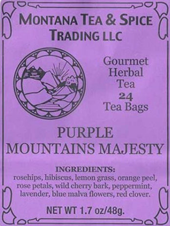 Purple Mountain's Majesty Tea