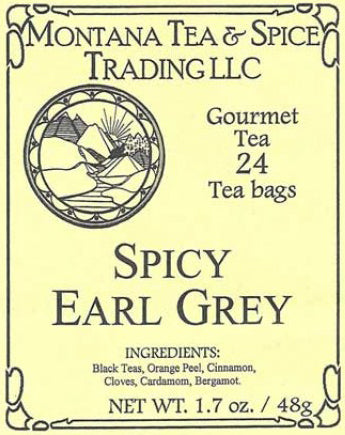 Spicy Earl Grey Tea