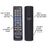 Starburst SB-HG-00817-AML Samsung compatible ANTI MICROBIAL TV Remote With Back Light GLOW KEYS