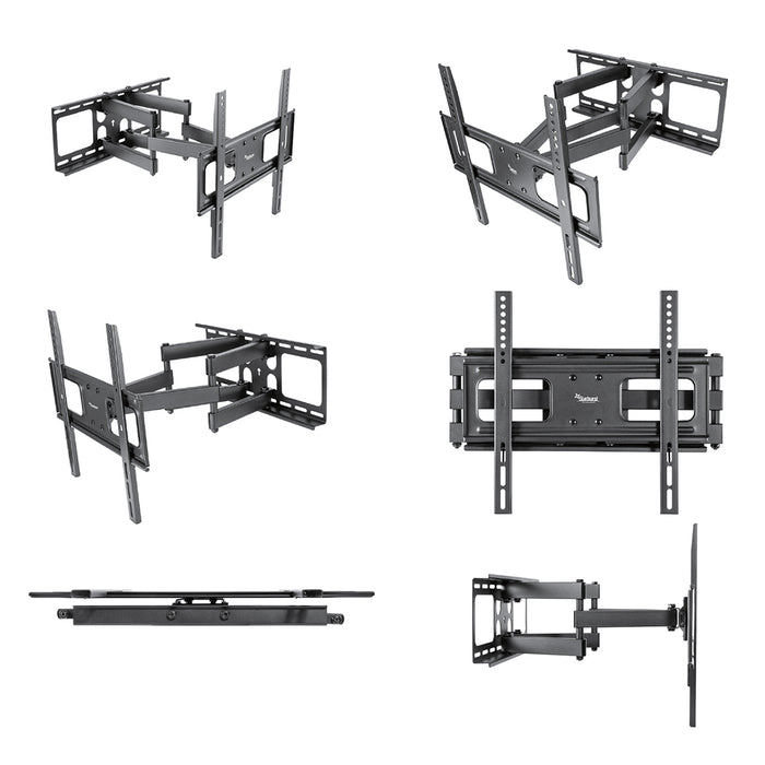 "SB-3260ART-D Full Motion Dual Arm TV Wall Mount For  32"" 37"" 40"" 43"" 49"" 50"" 55"" 60"" Flat Panel TV Displays"