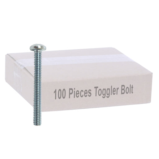 Snap Toggle Wall Anchor Bolts - 100 Pieces