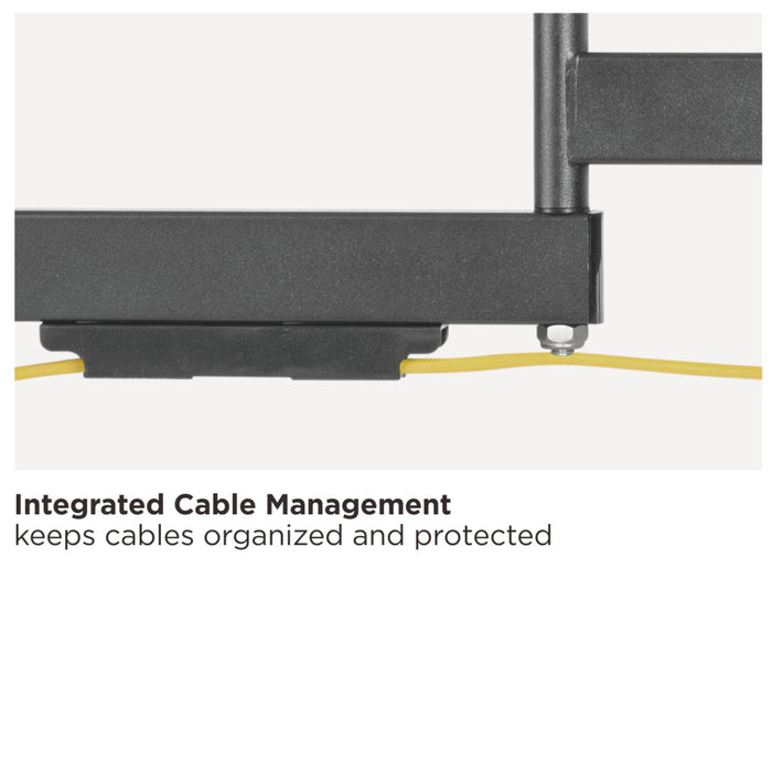 SB-3260ART-D-W Articulating TV Wall Mount With Outdoor Weather Proof Coating And Stainless Steel Hardware