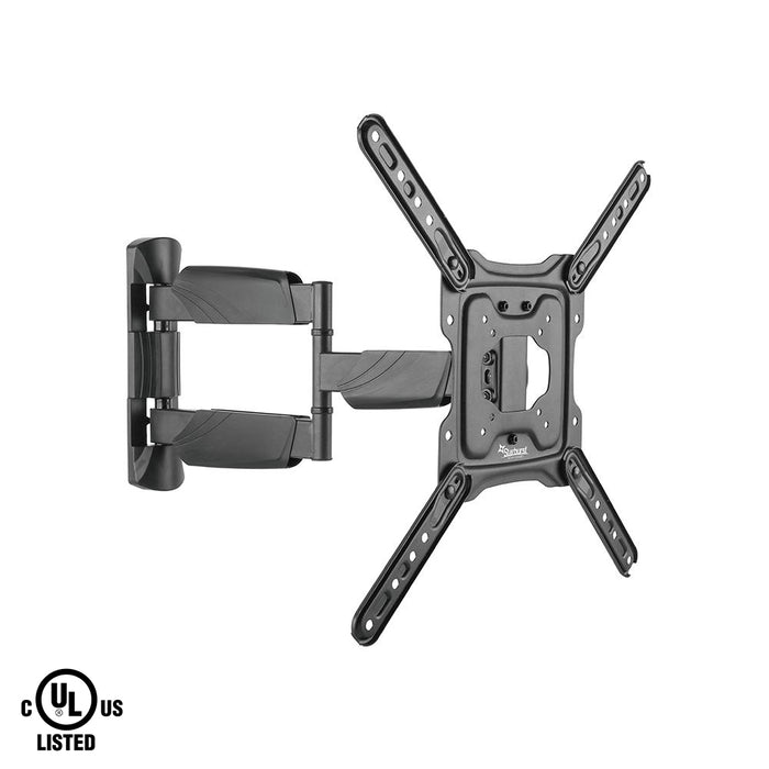 "Starburst SB-2350ART Full Motion Single Arm UL LISTED TV Wall Mount for 23"" 24"" 28"" 32"" 40"" 43"" 49"" 50"" Flat Panel Displays"