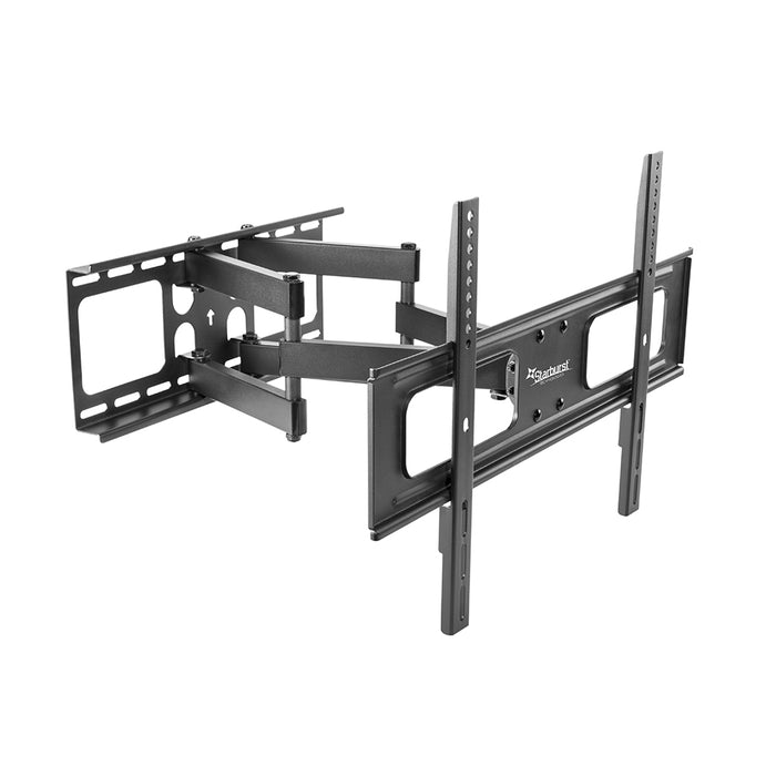 "Starburst SB-3765ART-D PRO SERIES ELITE Hospitality Grade Heavy Duty Full Motion Dual Arm Wall Mount For TV Display 37"" 40"" 43"" 49"" 50"" 55"" 65"""