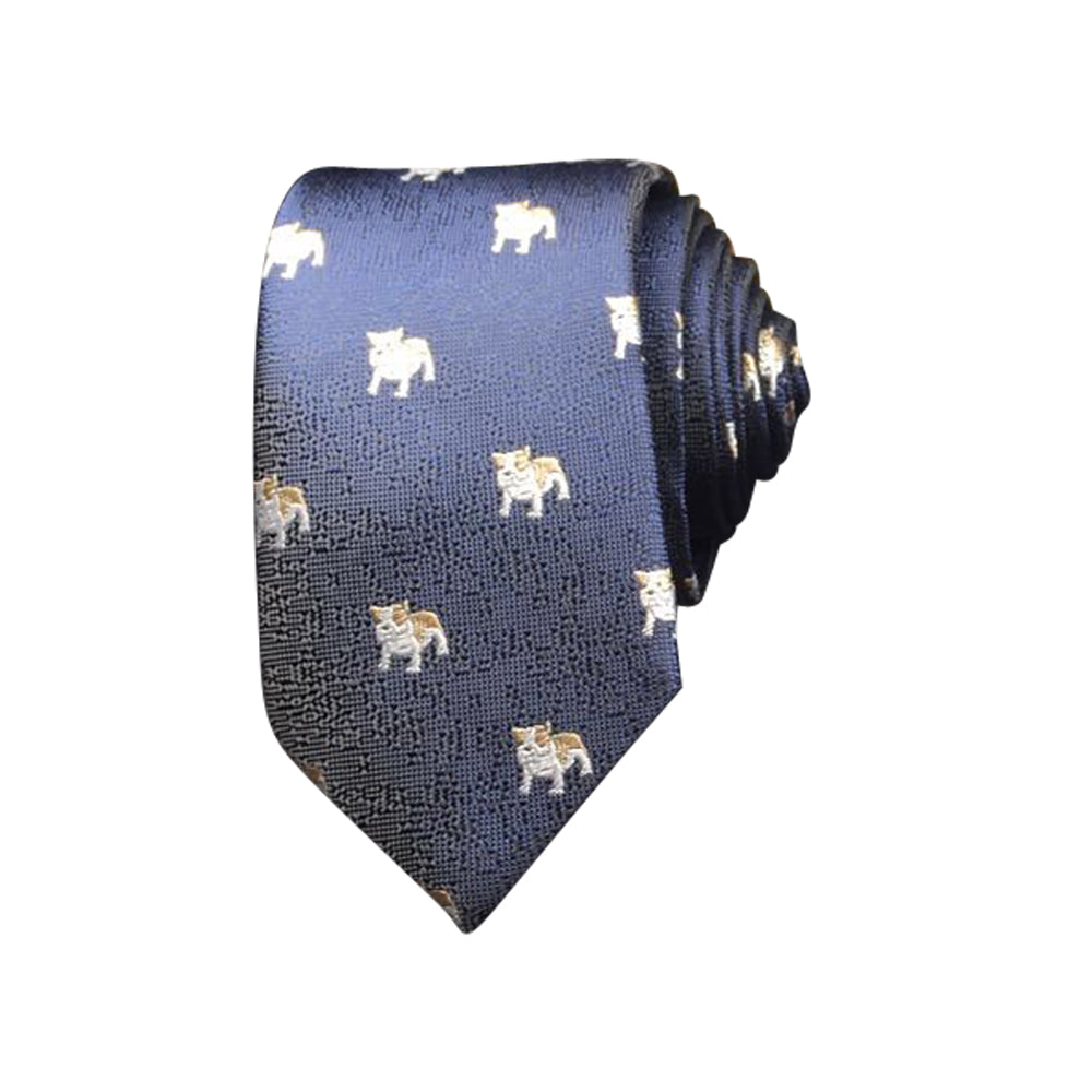 BULLDOG MOTIF TIES