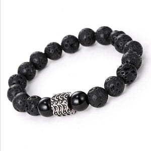 LAVA STONE BEADS STRETCH BRACELETS