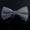 MICRO BOX PLAID BOW TIES