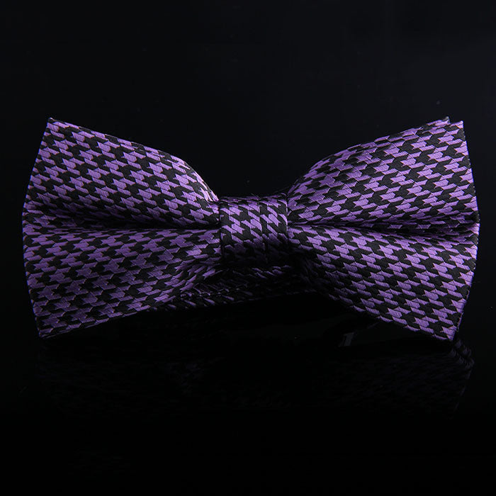 HOUNDSTOOTH BOW TIES